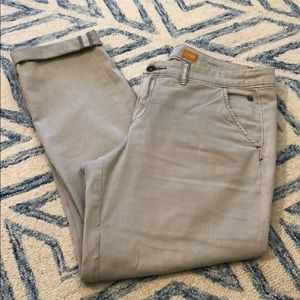 Anthropologie cuffed ankle length pant, 30